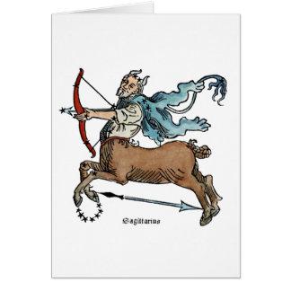 ZODIAC: SAGITTARIUS CARD
