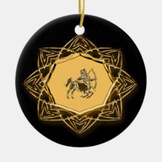 Zodiac Sagittarius - Customize it! Christmas Ornament