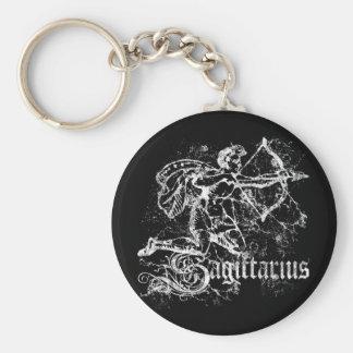 Zodiac Sagittarius Key Ring