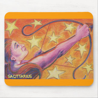 Zodiac Sagittarius mousepad