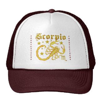 Zodiac Scorpio-Design-1 View Below Hints Trucker Hat