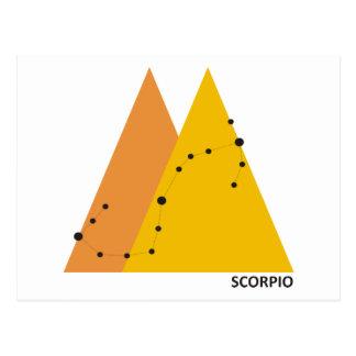Zodiac Scorpio Postcard