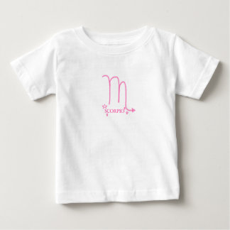 Zodiac scorpio symbol tee shirts