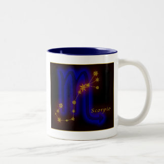 Zodiac - Scorpio Two-Tone Coffee Mug