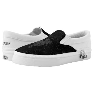 Zodiac sign Aries Slip On Shoes