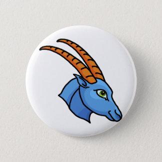 Zodiac sign Capricorn 6 Cm Round Badge