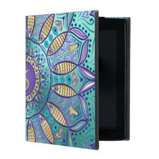 Zodiac Sign Capricorn Mandala Covers For iPad
