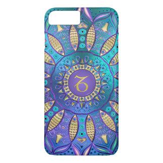 Zodiac Sign Capricorn Mandala iPhone 8 Plus/7 Plus Case