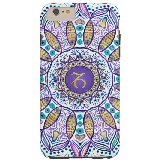 Zodiac Sign Capricorn Mandala iPhone Case
