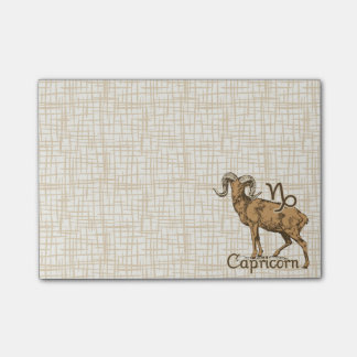 Zodiac Sign Capricorn Symbol Post-it® Notes