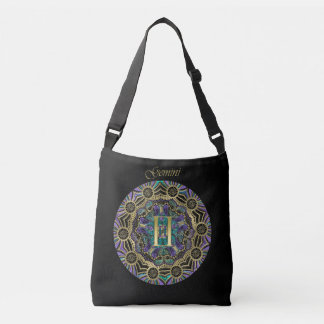 Zodiac Sign Gemini Mandala Crossbody Bag