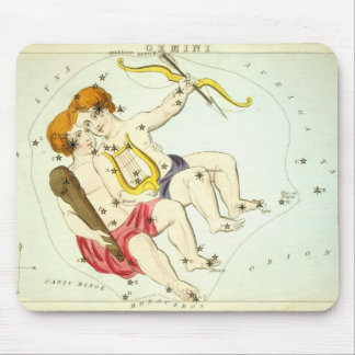 Zodiac Sign: Gemini Mouse Mat
