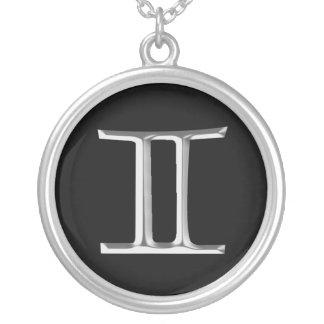 Zodiac Sign Gemini necklace