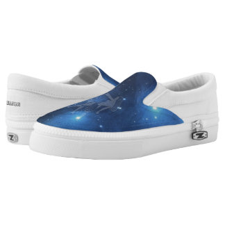 Zodiac sign Gemini Printed Shoes