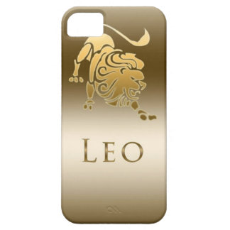 ZODIAC SIGN LEO GOLD BARELY THERE iPhone 5 CASE