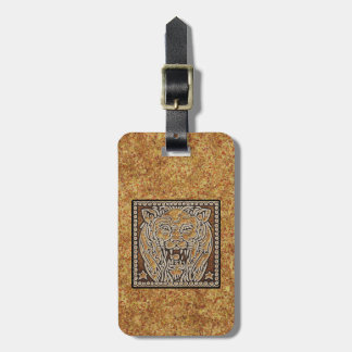 ZODIAC SIGN LEO LUGGAGE TAG
