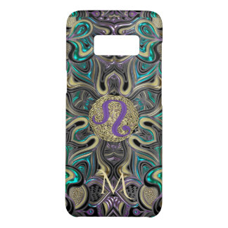 Zodiac Sign Leo Mandala Case-Mate Samsung Galaxy S8 Case