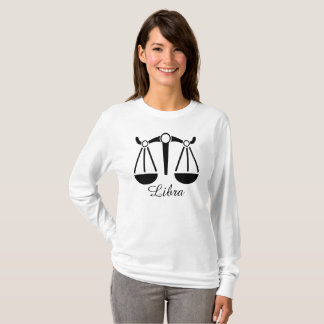 Zodiac Sign Libra Astrology Symbol Womens Shirt