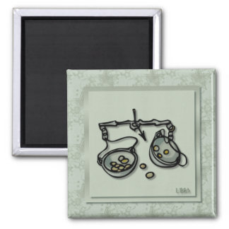 Zodiac Sign Libra Magnet
