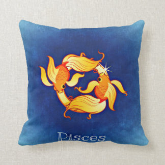 Zodiac sign Pisces Cushion