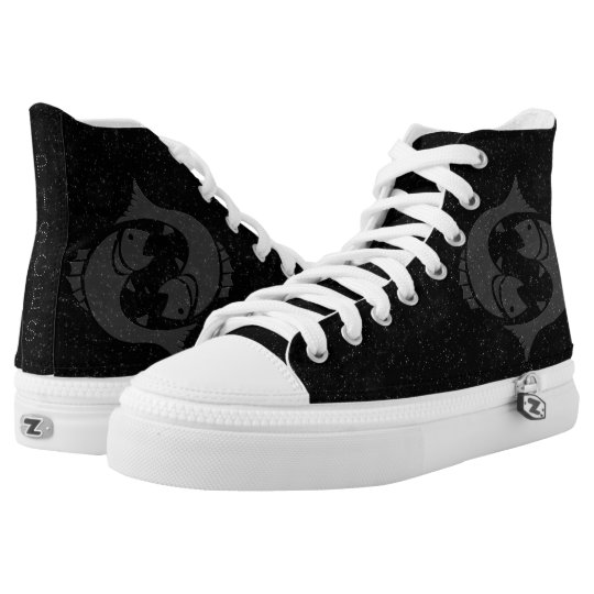 Zodiac sign Pisces High Tops