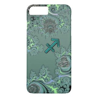 Zodiac Sign Sagittarius Celtic Fractal iPhone Case