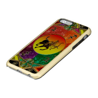 Zodiac Sign Sagittarius Mandala Incipio Feather® Shine iPhone 6 Case