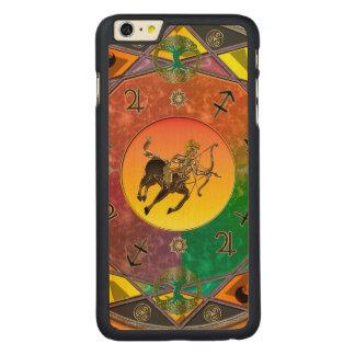 Zodiac Sign Sagittarius Mandala iPhone 6 Plus Case