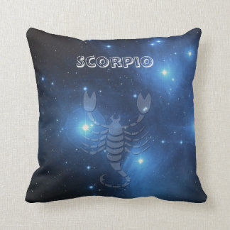 Zodiac sign Scorpio Cushion