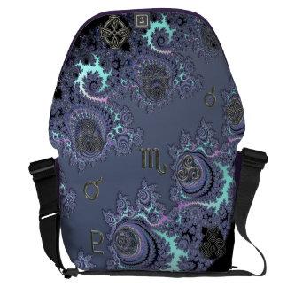 Zodiac Sign Scorpio Mystical Symbols Messenger Bag
