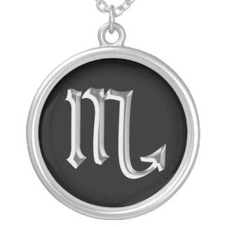 Zodiac Sign Scorpio necklace