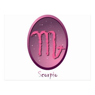 Zodiac sign Scorpio Wens Kaart