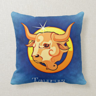 Zodiac sign Taurus Cushion