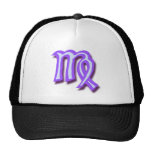 Zodiac sign Virgo Mesh Hat