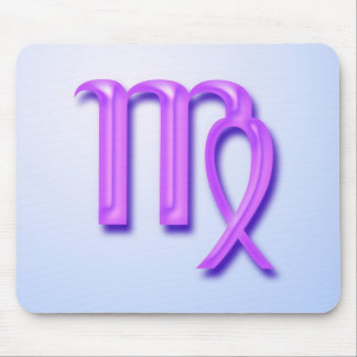 Zodiac sign Virgo Mousepad
