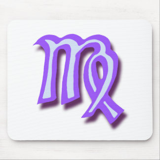 Zodiac sign Virgo Mouse Pad