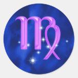 Zodiac sign Virgo Sticker