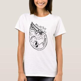 Zodiac Signs: Aquarius (F) T-Shirt