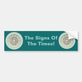Zodiac Signs Gift Idea Bumper Sticker
