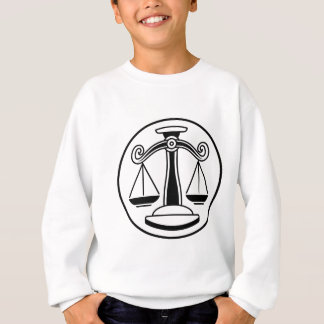 Zodiac Signs Libra Scales Sweatshirt