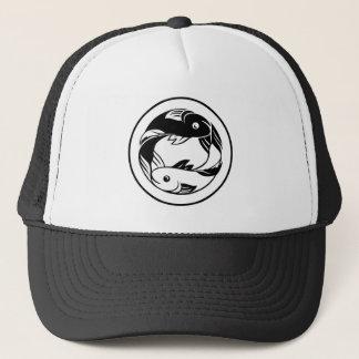 Zodiac Signs Pisces Fish Icon Trucker Hat