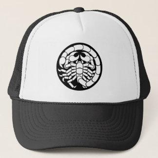 Zodiac Signs Scorpio Scorpion Icon Trucker Hat