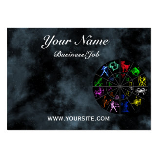 Zodiac signs together pack of chubby business cards