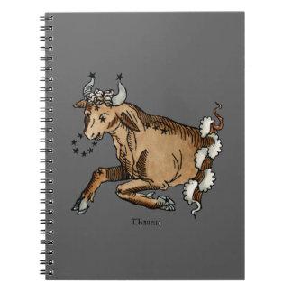 Zodiac: Taurus, 1482 Notebooks