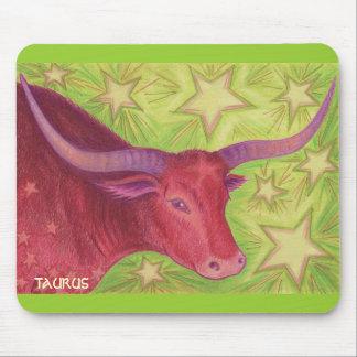 Zodiac Taurus mousepad