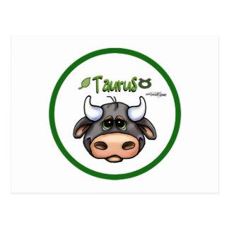 Zodiac - Taurus Post Cards