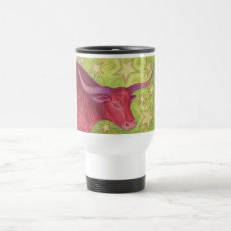 Zodiac Taurus travel/commuter mug