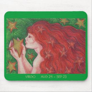 Zodiac Virgo mousepad dates