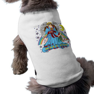 Zodiac-Virgo-V-1R Sleeveless Dog Shirt
