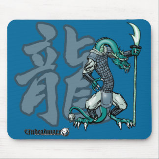 Zodiac Warriors: Year of the Dragon Mouse Pad